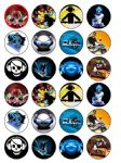 24 x Edible DJ Decks wafer Paper Cup Cake Top Toppers